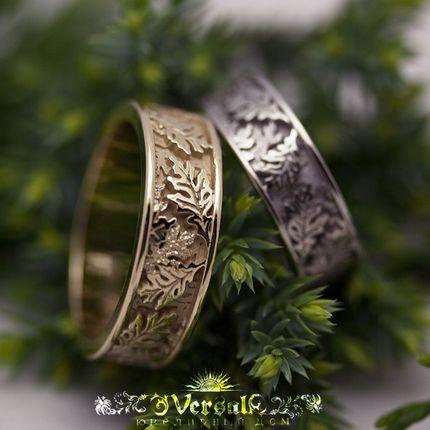 Обручальные кольца, артикул VGOK0197