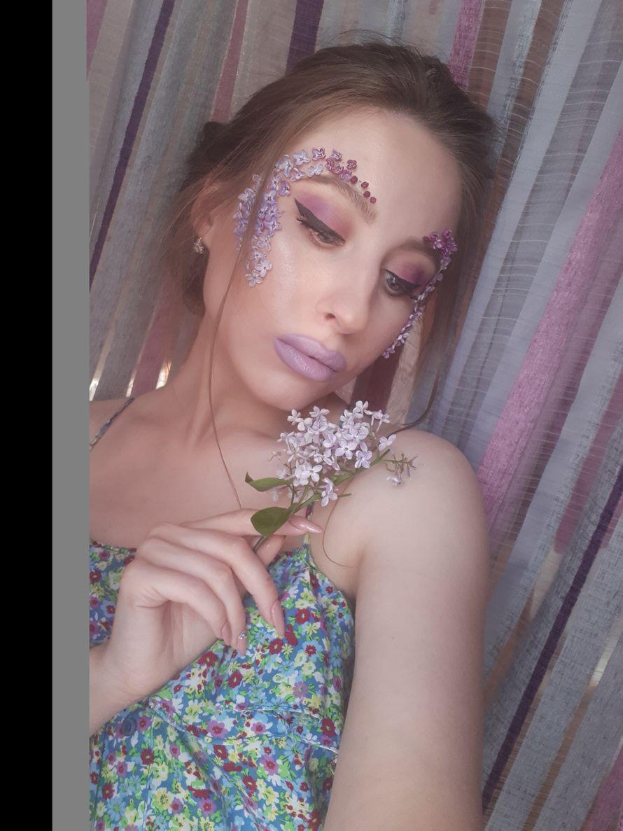 Авторский макияж для фотосессии - фото 14875236 Визажист Злата Земских