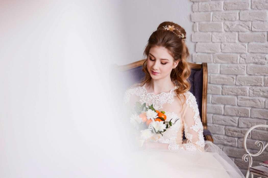 Model  - фото 15029986 Bead brad accessories - свадебные украшения