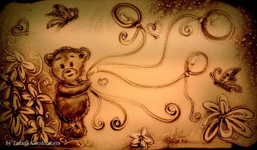 Фото 14913804 в коллекции Песочные картины - Песочное шоу Magicsand