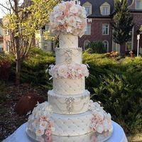 Торт мечты!!!   Идеальный, радостный, праздничный, роскошный, нарядный!    Теперь и семейная жизнь молодоженов будет именно такой!!!   После «горьких» тостов сладкое завершение свадебного вечера!