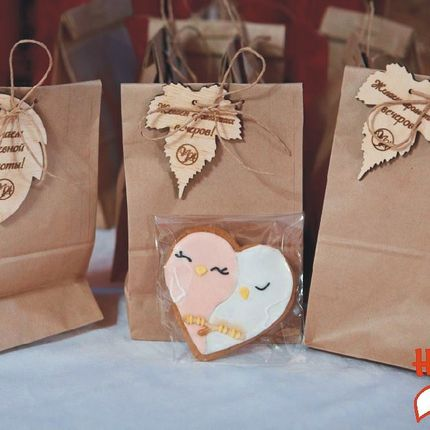 Бирочки с пожеланиями для подарков, цена за 1 шт