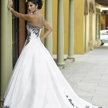 Пошив платья свадебного корсетного