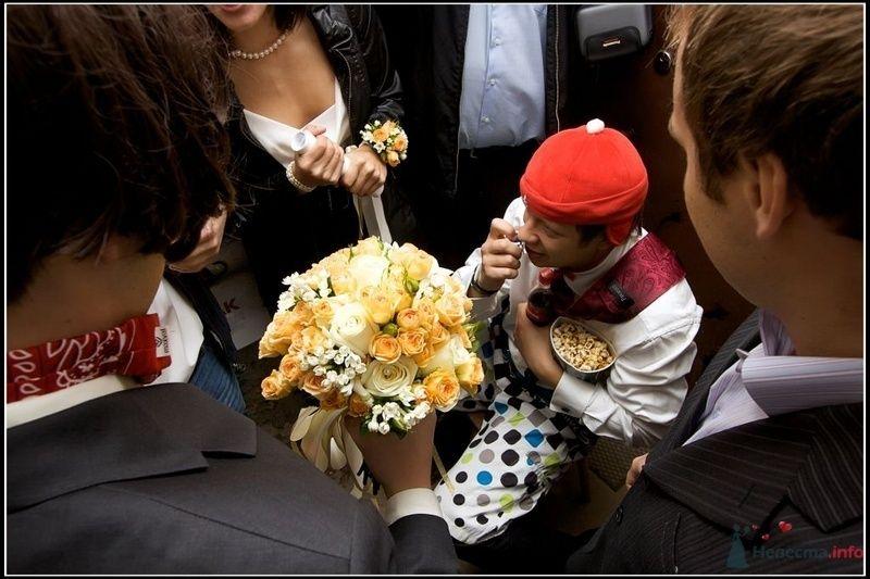 Букет невесты. Свадьбы 26.09.2009 - фото 78606 Вашкетова Юлия - организатор свадеб, флорист.