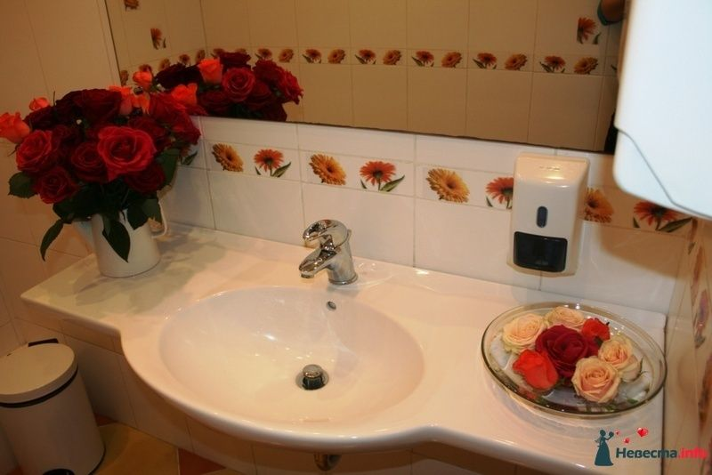 Флористическое оформление уборных помещений. - фото 91714 Вашкетова Юлия - организатор свадеб, флорист.