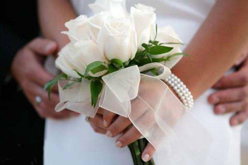 Как сделать самим букет для невесты 13