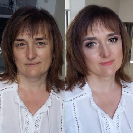 Лифтинг макияж для мамы невесты