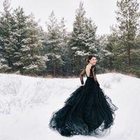 Свадебное платье: Блэк. Дизайнер: Галина Краснова.