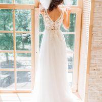 Свадебное платье: 1701 Дизайнеры: Татьяна Ковальчук и Ирина Довгань.