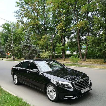 Mercedes S class 222 Black