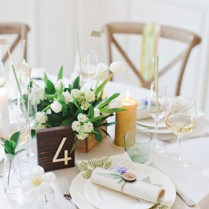 """Оформление столов - пакет на 8 гостей """"Botanical garden"""""""