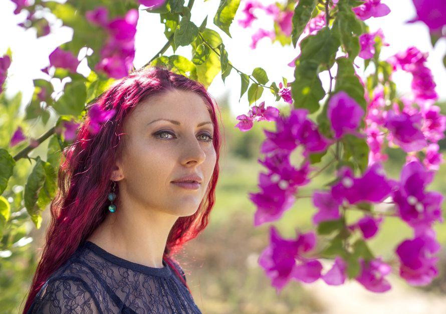в цветах, красное - фото 15306326 Фотограф Альберт Крайчински