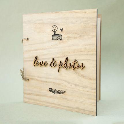 Книга для пожеланий и шкатулка для колец Botanical Garden