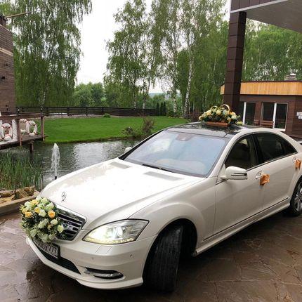 Аренда авто - Мерседес S500