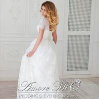 Свадебное платье Донетти со шлейфом