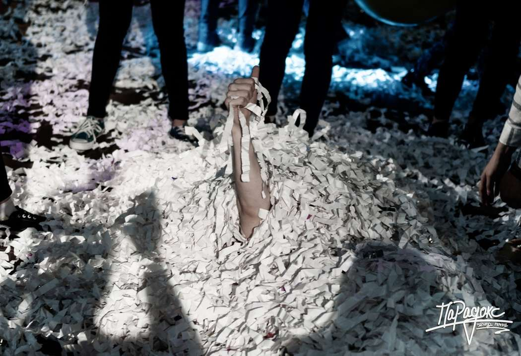 """Фото 17976548 в коллекции Портфолио - Бумажное шоу """"Euphoria"""" - шоу конфетти"""