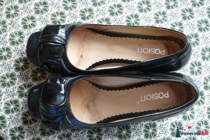 Черные лакиров. туфле