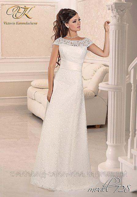 9c559a73ab3 Свадебное платье ровное кружевное  фото 2945129 - Свадебный салон ...