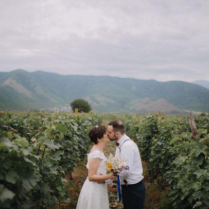 Организация свадьбы на виноградниках