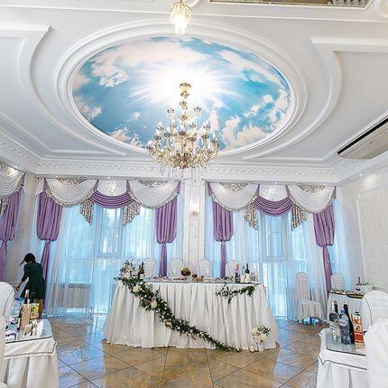 Декор зала для банкета