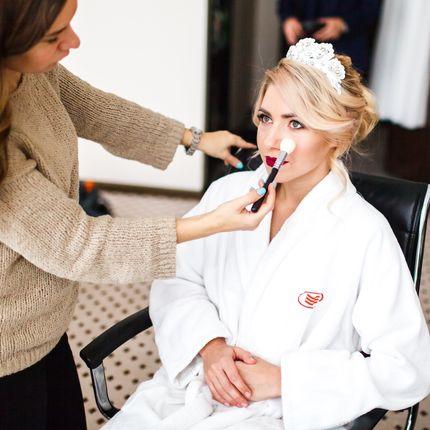 Репетиция причёски и макияжа, 2-4 часа