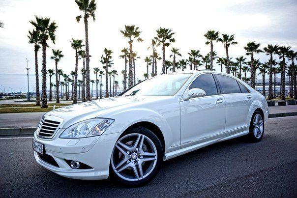 Аренда авто Mercedes с 221, цена за 1 час