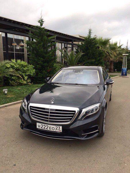 Аренда авто Mercedes с 222, цена за 1 час