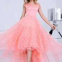 Вечернее платье цвет: коралл размеры: 40-48 7500 руб.