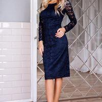 Вечернее платье цвет: синий размеры: 42-56 6100 руб.