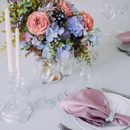 Оформление зала - пакет Lilac&Grey Palette