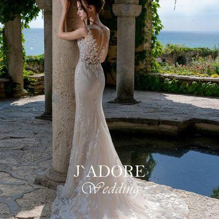 Прямое свадебное платье Милано