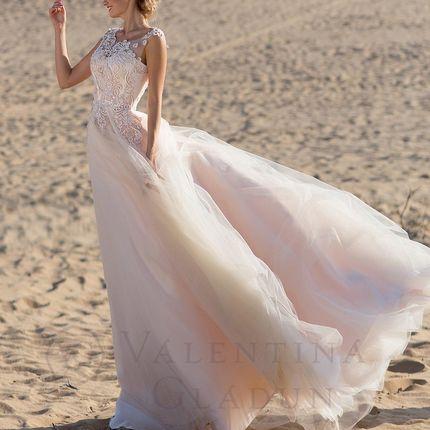 Свадебное платье А-силуэта Emiliano