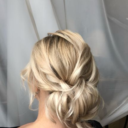 Причёска для гостей, 1 час