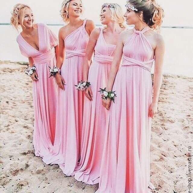 "Подружки в платьях ""Розовый кварц"" - фото 15805600 ""Dressforfriends"" - салон проката платьев"