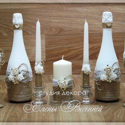 Свадебный набор в стиле Рустик