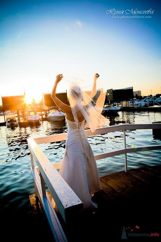 Невеста и закат солнца - фото 57401 Свадебный фотограф Моисеева Юлия