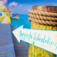 Свадьба заграницей, Свадьба на Мальдивах, Свадьба на Сейшелах Табличка-указатель