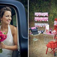 Стильная свадьба летом