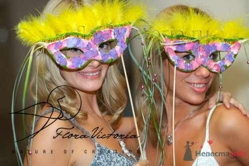 Карнавал на свадьбе - фото 1341 Cвадебная флористика и декор событий FloraVictoria