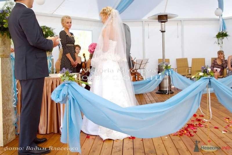 Выездная регистрация брака - фото 29405 Cвадебная флористика и декор событий FloraVictoria