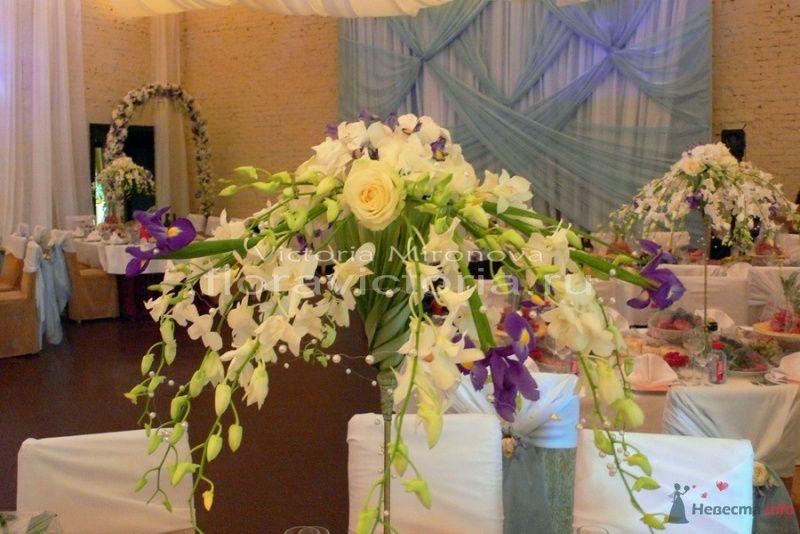 Украшение свадебного зала - фото 29424 Cвадебная флористика и декор событий FloraVictoria