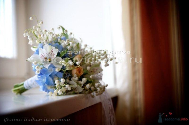Свадебный букет - фото 29442 Cвадебная флористика и декор событий FloraVictoria