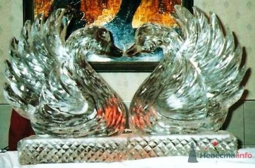 лебеди - фото 1307 Ледяные скульптуры