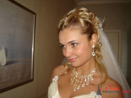 Стильный, красивый образ для невесты - это моя работа.  - фото 7959 Парикмахер и стилист-визажист - Елена Иванова