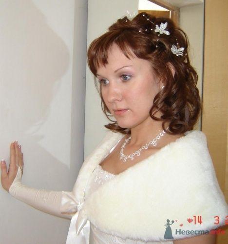 Свадебная укладка и свадебный визаж