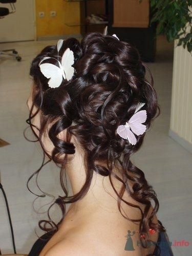 свадебные прически фото свадебный макияж. - фото 6902 Парикмахер и стилист-визажист - Елена Иванова