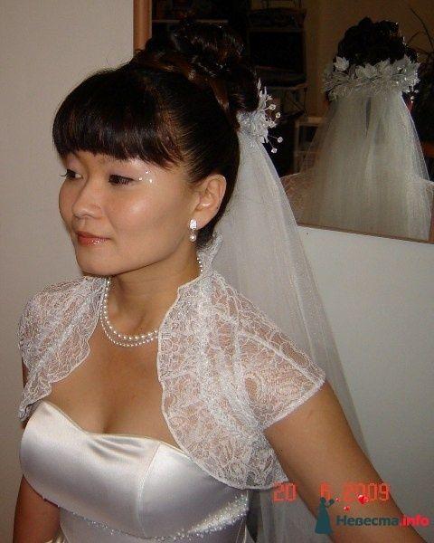 Свадебная прическа с фатой - фото 119396 Парикмахер и стилист-визажист - Елена Иванова