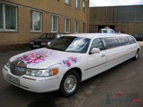 Аренда белого лимузина на свадьбу - фото 1302 Лимузин Вояж - аренда авто