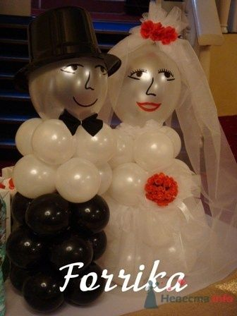 "Фигура ""Жених и Невеста"" - фото 13981 Невеста01"