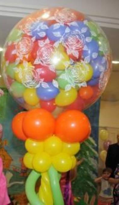 Красивый шар с различным наполнением. Любой сложности. Все заказы индивидуальны - фото 1010305 Праздник-проказник - проведение свадьбы
